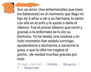 comentario sobre maternidad del H. Alvaro Cunqueiro