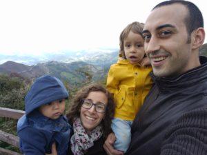 Nuestra familia de 4. Fotografía de Macarena Chacón